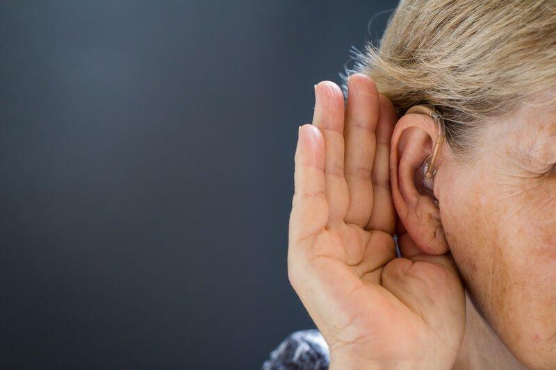 کاهش شنوایی در ام اس