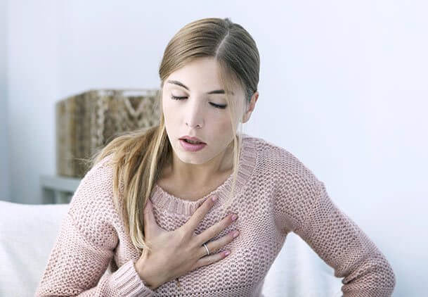 مشکلات تنفسی در ام اس