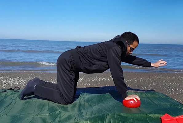 تمرین Core جهت تقویت عضلات دست و عضلات Core