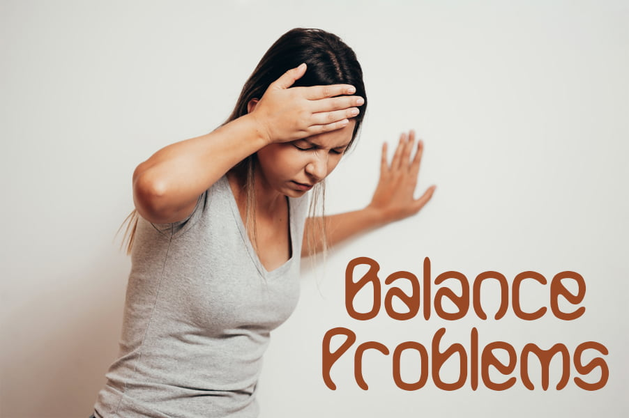 ام اس و مشکلات تعادل