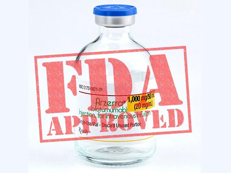سازمان غذا و داروی آمریکا FDA داروی کسیمپتا (اوفاتوموماب) که مشابه داروی اکرووس (اوکرلیزوماب) هست را برای ام اس عود کننده تایید کرد